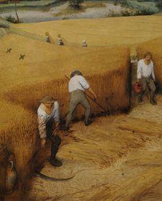 Pieter Bruegel the Elder- The Harvesters