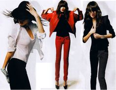 MJ inspired outfits! ... I NEED a RED leather jacket!