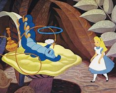 WHO ARE YOU?  Alice in Wonderland, 1951