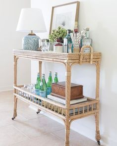 """Visit our web site for even more details on """"bar cart decor inspiration"""". It is actually an exceptional place to find out more. Plywood Furniture, Bar Furniture, Furniture Design, Style At Home, Kitsch, Gold Bar Cart, Muebles Living, Bar Cart Decor, Diy Bar Cart"""