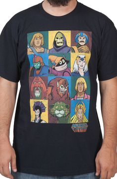 Masters Of The Universe Characters Shirt