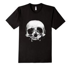 Featuring an optical illusion (Skull or Kissing Couple), this tee is nice to look at from both a far away or a close distance. iT-Shirts Classy Skull-Or-Kiss Short-Sleeve tee makes the perfect addition to your Halloween collection and is an awesome gift to all the people you love. Our iT-Shirts are 100% Cotton, Machine Washable, Come In Different Sizes For All Age Groups, And Are Suitable For Both Genders.