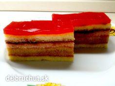 Fotorecept: Punčový zákusok bez múky - Tento koláčik je fantastický pre tých, ktorí si držia štíhlu líniu alebo uprednostňujú sladkosti bez...
