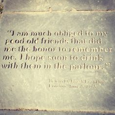 Top 100 ben franklin quotes photos Cheers 🍻 #benfranklin #benfranklinquotes #cheerstooldfriends #philadelphia #travellife