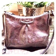 Authentic coach cross body purse It goes with everything, only used ones Coach Bags Crossbody Bags