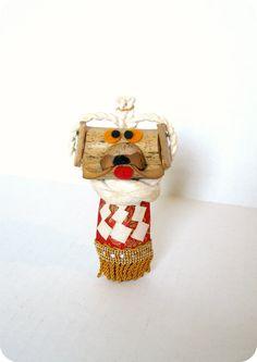 JAPANESE VINTAGE HandCrafted Dog Figurine by TokyoVintage26, $9.50