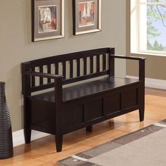 Winsome Granville Storage Bench with 3 Foldable Baskets - Indoor Benches at Hayneedle | Daisy Hill Beach Home | Pinterest | Storage benches ... & Winsome Granville Storage Bench with 3 Foldable Baskets - Indoor ...
