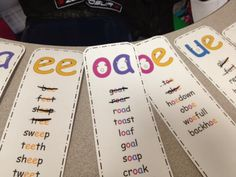 spelling for vowel teams Great game to get students using their decoding skills! Busy Mama & Her Boys: Vowel Digraphs/Talkers Activities Packet Phonics Reading, Teaching Phonics, Phonics Activities, Kindergarten Reading, Reading Activities, Teaching Reading, Guided Reading, Abc Phonics, Phonics Lessons