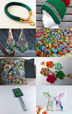 Green and others! by Nataliia Logvinova on Etsy--Pinned with TreasuryPin.com