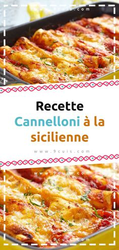 Recette Cannelloni à la sicilienne Sauce Tomate, French Toast, Keto, Breakfast, Food, Tomato Paste, Ground Meat, Cooking Recipes, Noodles