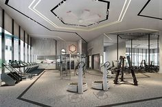 Luxury gyms require luxury flooring! - To order samples or to schedule a consultation, contact us!  #rubberflooring #luxurygym #gymflooring #gymdesign #gymmotivation