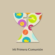 Vector: MI PRIMERA COMUNION Printable Cards, Printables, First Communion, Scrap, Clip Art, Kawaii, First Communion Cards, Eucharist, Hand Crafts