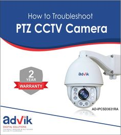 Here are some of the common solutions to troubleshoot a #PTZ #CCTVCamera.. https://goo.gl/RXjNmV