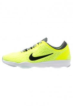 huge selection of 43ea3 93882 Nike Performance - ZOOM QUICK FIT - Trainings-   Fitnessschuh -  volt black dark grey white  fitnessschuh  nike