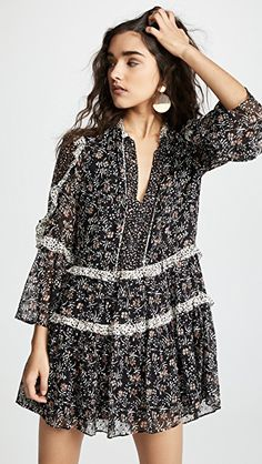 Find and compare Essie Dress across the world's largest fashion stores! Only Fashion, China Fashion, China Mode, Ulla Johnson Dress, Style Feminin, Short Dresses, Summer Dresses, Dress Cuts, Chiffon Dress