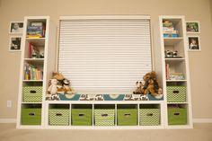 Kid Toy Storage With Ikea Shelves