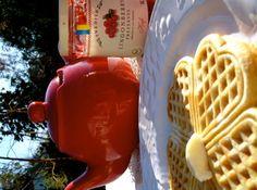 Simple, sweet, Scandinavian Waffles
