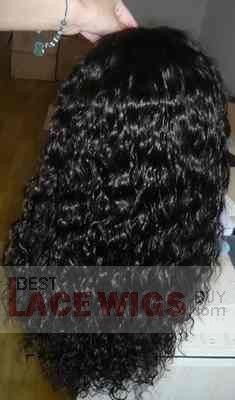 18 Full Lace wigs curly wavy #1b 100% remy Human hair lace wigs,lace wigs human hair,lace wigs on sale,malaysian full lace wigs at bestlacewigsbuy.com Curly Full Lace Wig, Human Hair Lace Wigs, Remy Human Hair, Brazilian Hair Wigs, Wig Hairstyles, Crochet Hats, Fashion, Knitting Hats, Moda