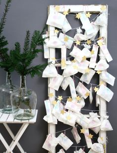 Adventskalender   DIY christmas countdown by http://titatoni.blogspot.de/