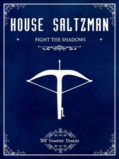 "#TVD The Vampire Diaries Alaric ""House Saltzman, fight the shadows"""