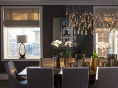 Gallery 3 / Galleri 3 – CS Interior Design Chandelier, Comfy, Ceiling Lights, Table Decorations, Interior Design, Lighting, Dahl, House, Dining Rooms