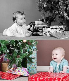 IL NATALE DEI BAMBINI DEGLI ANNI 50/60 FOTO - FOTOGRAFI D'AUTORE BEAUTIFUL PICTURES