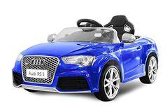 Kinder Elektro Licenced Audi RS5 2x35W 12V Elektroauto Kinderfahrzeug Ferngesteuert Elektro