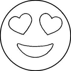 Risultati immagini per emojis dibujar Cute Easy Drawings, Art Drawings For Kids, Drawing For Kids, Emoji Templates, Stencil Templates, Emoji Coloring Pages, Easy Coloring Pages, Emoji Craft, Emoticons