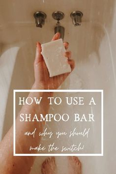 There are many reasons to switch to a shampoo bar including it's lack of chemicals and it's sustainability! But you may be wondering how to use a shampoo bar? I've got all the answers and more right here! Clean Beauty, Diy Beauty, Natural Beauty, Green Living Tips, Sustainable Living, Sustainable Products, Natural Cleaners, Shampoo Bar, Green Cleaning