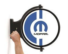Mopar Logo Revolving Light - Free Shipping on Orders Over $99 at Genuine Hotrod Hardware