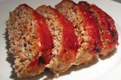 Skinny Turkey Meatloaf - better than the original!!!