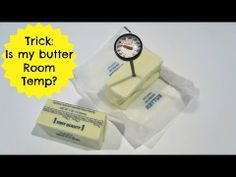 How To Tell If Your Butter Is At Room Temperature | Baking 101 Video: Quick, Easy Tips & Tricks