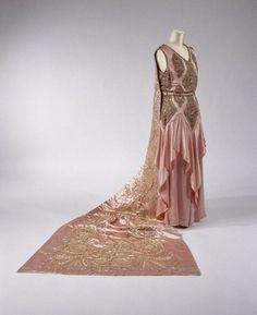 1920s court dress