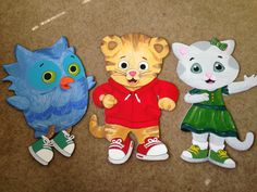 Daniel tiger friends for a great birthday party!