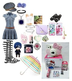 """""""cute day (trip day)"""" by sasukeuchiha2498 ❤ liked on Polyvore featuring beauty, Kate Spade, Stuart Weitzman, Insten, Blue Nile, Cartier, ASOS, Betsey Johnson and Christian Dior"""