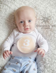 three month portrait ideas, three month portraits, reflections by jess, month stickers, Portrait Ideas, Portraits, Third, Stickers, Fun, Baby, Kids, Photography, Fin Fun