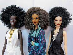 barbie nichelle and nikki by eifel85, via Flickr