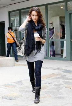 looks com coturno preto e calça jeans - Pesquisa Google
