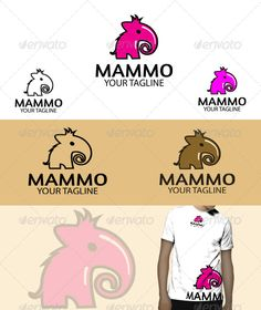 Mammo Logo , clean and unique, suitable to any kind of companies,  Included Files:  Ai,Eps (cs2 document) Editable colours (CMYK m
