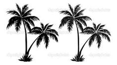 Afbeeldingsresultaat voor palmboom stencil
