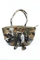Cafenoir ladies handbag BR01E 291 VERDE MILITARE