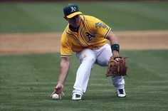 Brandon Inge, the Oakland A's. Get well!