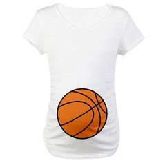 Basketball Belly Funny Maternity T-Shirt by CafePress Basketball Gender  Reveal acff863a6