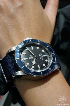 Tudor Heritage Black Bay #tudor #watch #baselworld2014