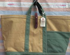 Vintage Military Canvas Remade Engineer Tool Bag