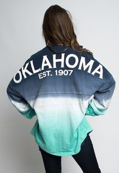 Ombre Oklahoma Spirit Jersey but in alabama 035f7ff58