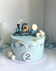 Ideas baby boy birthday cake simple for 2020 Baby Boy Birthday Cake, Dinosaur Birthday Cakes, Baby Boy Cakes, First Birthday Cakes, Baby Shower Cakes, Blue Birthday, 17th Birthday, Fondant Cakes, Cupcake Cakes