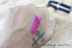 MAC Girl About Town Lipstick Swatch Mac Girl About Town, Mac Lipstick Swatches, Beauty Corner, Print Tattoos, Makeup, Make Up, Beauty Makeup, Mac Lipsticks, Bronzer Makeup