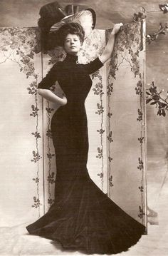 Happiness on a 1/2 Acre: What not to wear and the Gibson Girl body proportions