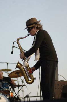 """Picture of Gato Barbieri.  If you love sultry sax music, """"The Cat"""" reins supreme!"""